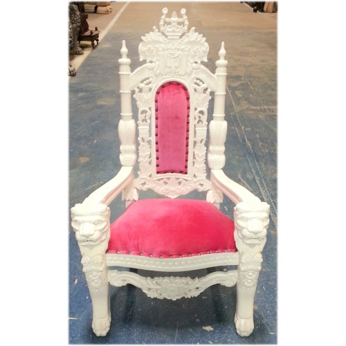 mini white throne