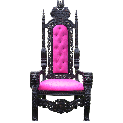 Cougar Throne Chair